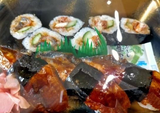 鰻づくしのお寿司