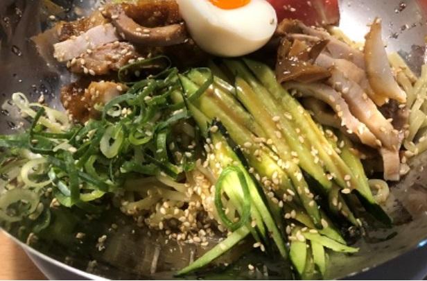 六甲道で美味しい冷麺をいただきました(麺屋ダイニング 中華そば なおやさん